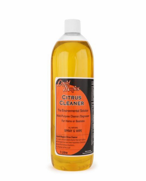 Liquid Magics Citrus Cleaner 1 Litre Refill Bottle